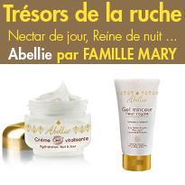 Abellie<br>cosmétiques bio au miel<br>pour une peau sublimée