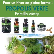 La Propolis verte<br>un concentré des Abeilles<br>aux vertus surprenantes