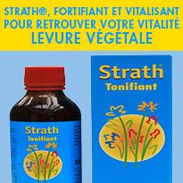 Complément alimentaire<br>Levure végétale STRATH®<br>fortifiants et tonifiants