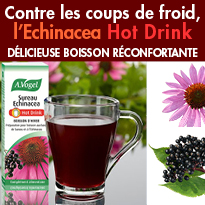 BOISSON RÉCONFORTANTE<br>Echinacea<br>Hot Drink