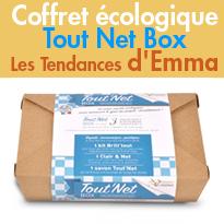 Coffret écologique<br>Tout Net Box<br>Les Tendances d'Emma