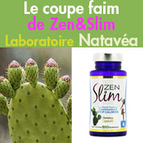 Stop Calories<br>Le coupe faim<br>de Zen&Slim<br> de NataVéa