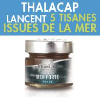 « Eclats d'Embruns »,<br>Thalacap Catalogne & Île de Ré<br>Lancent 5 Tisanes<br>Issues de la Mer