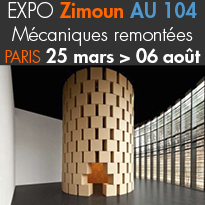 25 mars au 6 août 2017<br>Zimoun<br>Paris 75019<br>au 104