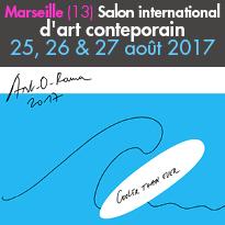 25,26&27août2017<br>ART-O-RAMA<br>Marseille (13)