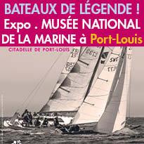 Photographies<br>musée de la Marine<br>de Port-Louis (56)<br>bateaux d'exception