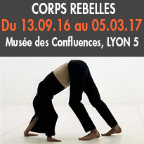 Exposition<br>Corps rebelles<br>Musée des Confluences<br>Lyon