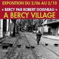 Exposition<br>«BERCY PAR<br>ROBERT DOISNEAU»<br>Paris
