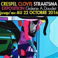 Toulouse (31)<br>Exposition<br>CRESPEL<br>CLOVIS<br>STRAATSMA