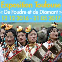 « De Foudre et de Diamant»<br>Toulouse (31)<br>Musées Paul-Dupuy<br>Georges-Labit