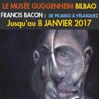 Au Musée<br>Guggenheim Bilbao<br>Francis Bacon<br>de Picasso à Vélasquez