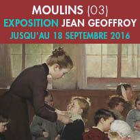 MOULINS (03)<br>Exposition Jean Geoffroy<br>Un engagement républicain