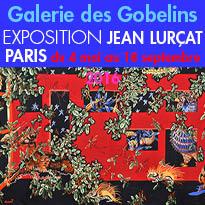 Paris<br>Exposition<br>« Jean Lurçat ,<br>Au seul bruit du soleil »