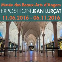 Exposition<br>de Jean Lurçat<br>à Angers (49)<br>musée des Beaux-Arts<br>