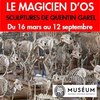 Paris 5e<br>au Jardin des Plantes<br>exposition<br>avec Quentin Garel