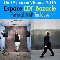 Exposition<br>Olivier Culmann<br>Festival MAP<br>Toulouse (31)<br>Espace EDF Bazacle
