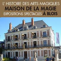 La Maison de la Magie<br>Découvrez l'histoire<br>des arts magiques !