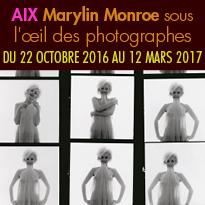 Aix-en-Provence(13)<br>Caumont Centre d'Art<br>Exposition<br>Marylin Monroe<br>sous l'œil des photographes