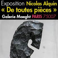 Du 13 octobre au 26 novembre 2016<br>Nicolas Alquin<br>« De toutes pièces »<br>Galerie Maeght
