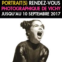 """festival""""Portrait(s)""""<br>Vichy<br>Rendez-vous<br>photographique"""