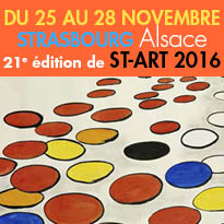 ST-ART 2016<br>Strasbourg<br>Foire Europeenne<br>d'Art Contemporain