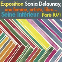 Exposition<br>Sonia Delaunay<br>Seine Intérieur<br>Paris