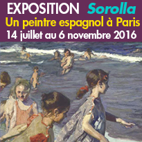 Giverny (27)<br>Exposition<br>Joaquín Sorolla<br>du 14 juillet au 6 novembre 2016