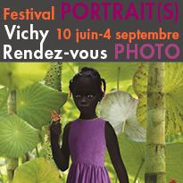 Festival Photographique<br>PORTRAIT(S)<br>Vichy<br>10 juin-4 septembre 2016