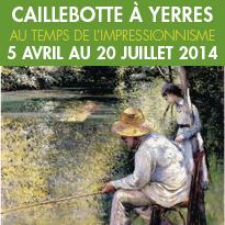 Yerres<br>Exposition Caillebotte<br>Du 5 avril au 20 juillet 2014