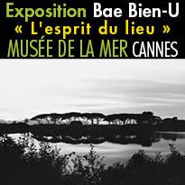 Cannes<br>Exposition<br>Bae Bien-U<br>« L'esprit du lieu »