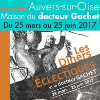 Auvers-sur-Oise (95)<br>Exposition Maison<br>du docteur Gachet
