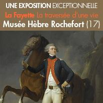 Rochefort (17)<br>une exposition<br>exceptionnelle<br>sur La Fayette