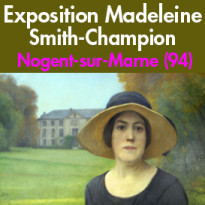 Exposition<br>Madeleine<br>Smith-Champion<br>Nogent-sur-Marne (94)