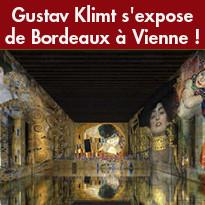 Gustav Klimt s'expose de Bordeaux à Vienne !