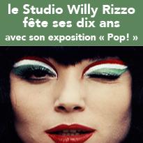Exposition POP pour célébrer les 10 ans du studio Willy Rizzo