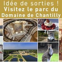 Le parc du Domaine de Chantilly est ouvert !