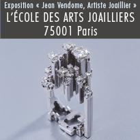 L'École des Arts Joailliers présente Jean Vendome, artiste joaillier