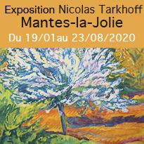Exposition Nicolas Tarkhoff à Mantes-la-Jolie