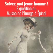 Exposition « Suivez-moi jeune homme, Images de mode et presse féminine (1850- 1939) »