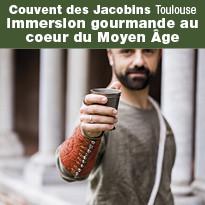 immersion gourmande au Couvent des Jacobins à Toulouse