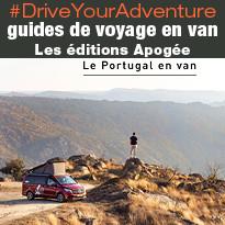 #DriveYourAdventure  des guides de voyage en van