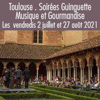 Toulouse, Soirées Guinguette<br>au Couvent des Jacobins