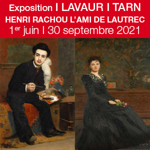 Exposition, HENRI RACHOU L'AMI DE LAUTREC à Lavaur