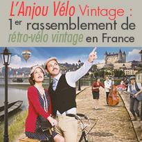Saumur (49)<br>7e édition<br>Anjou Vélo Vintage<br>24 et 25 juin