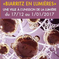 «Biarritz en lumières»(64)<br>du 17/12 au 1/01/2017