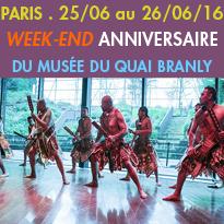Les 25 et 26 juin 2016<br>De la musique<br>Musée du quai Branly