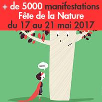 Fête de la Nature<br>du 17 au 21 mai 2017