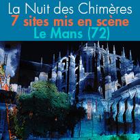La Nuit des Chimères<br>Le Mans (72)<br>jusqu'au 2 septembre 2017