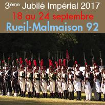 23 et 24 septembre<br>3ème Jubilé Impérial<br>Rueil Malmaison (92)