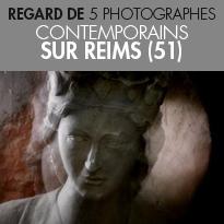 Exposition<br>« Patrimoines revisités »<br>Les regards<br>de 5 photographes<br>sur Reims